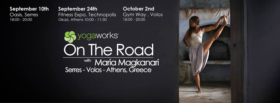 YogaWorks On The Road