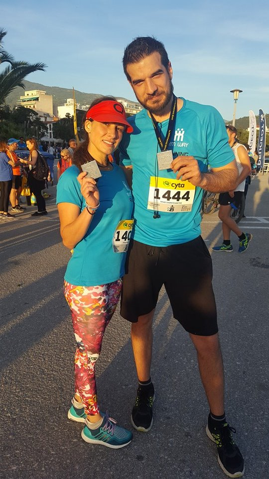 Gym Way Half marathon — μαζί με Ritsa Rousta & Ilias Shoretsianitis