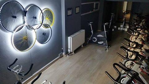 Η αίθουσα του Indoor Cycling…