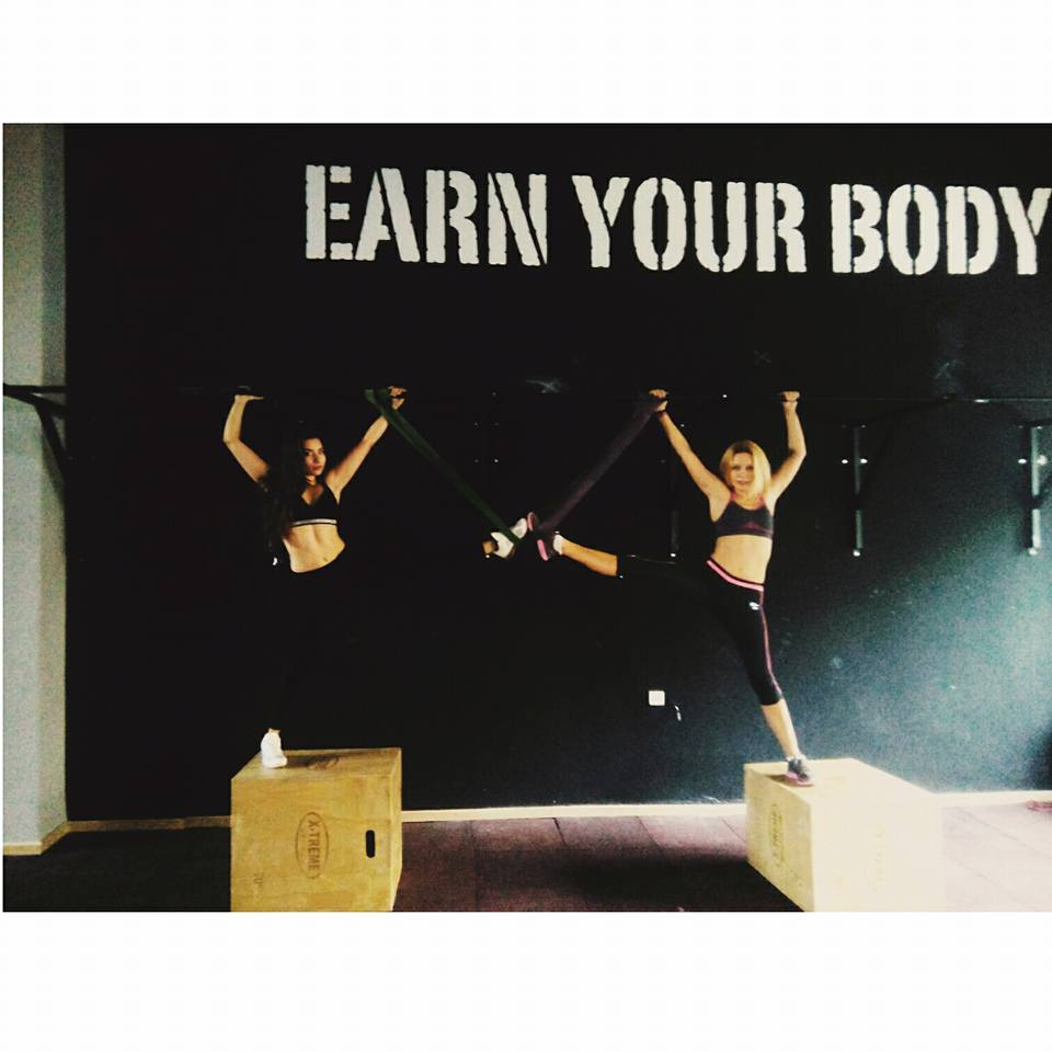 Earn your body by training hard!!!!!!!